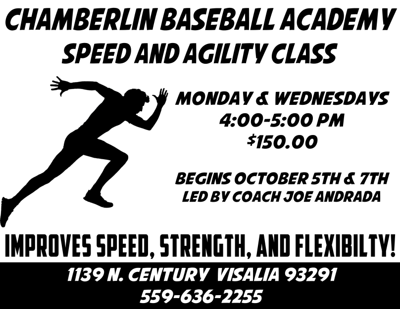 This Clinic will run for 4 weeks (October 5th & 7th, October 12th & 14th, October 19th & 21st, and October 26th & 28th)